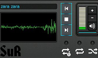 Windows Mobile App [WVGA]: Sur v1.0 MP3 Player with Visualization