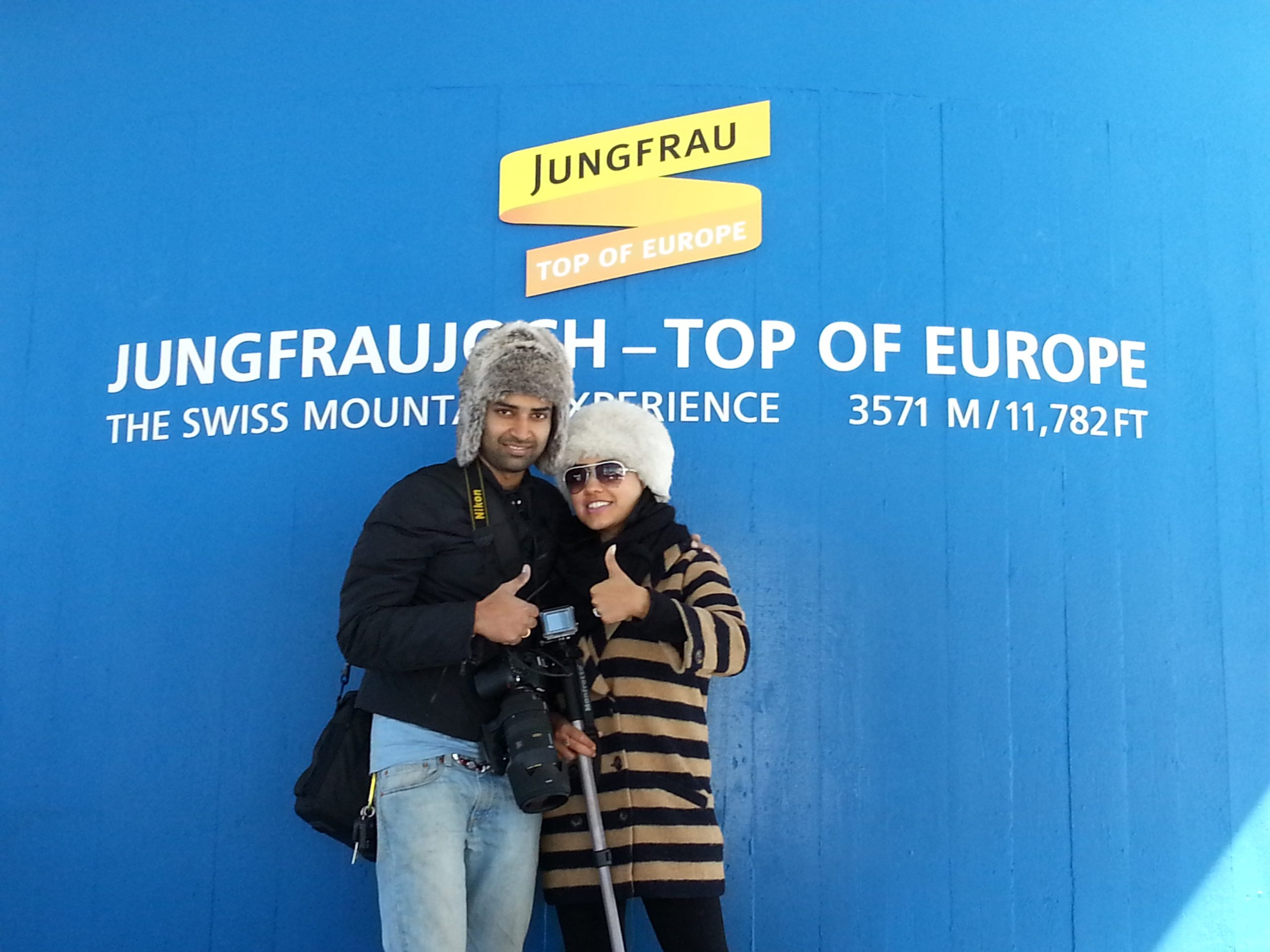 Day 08: Fun in Switzerland Continues… (Jungfrau – Top of Europe)