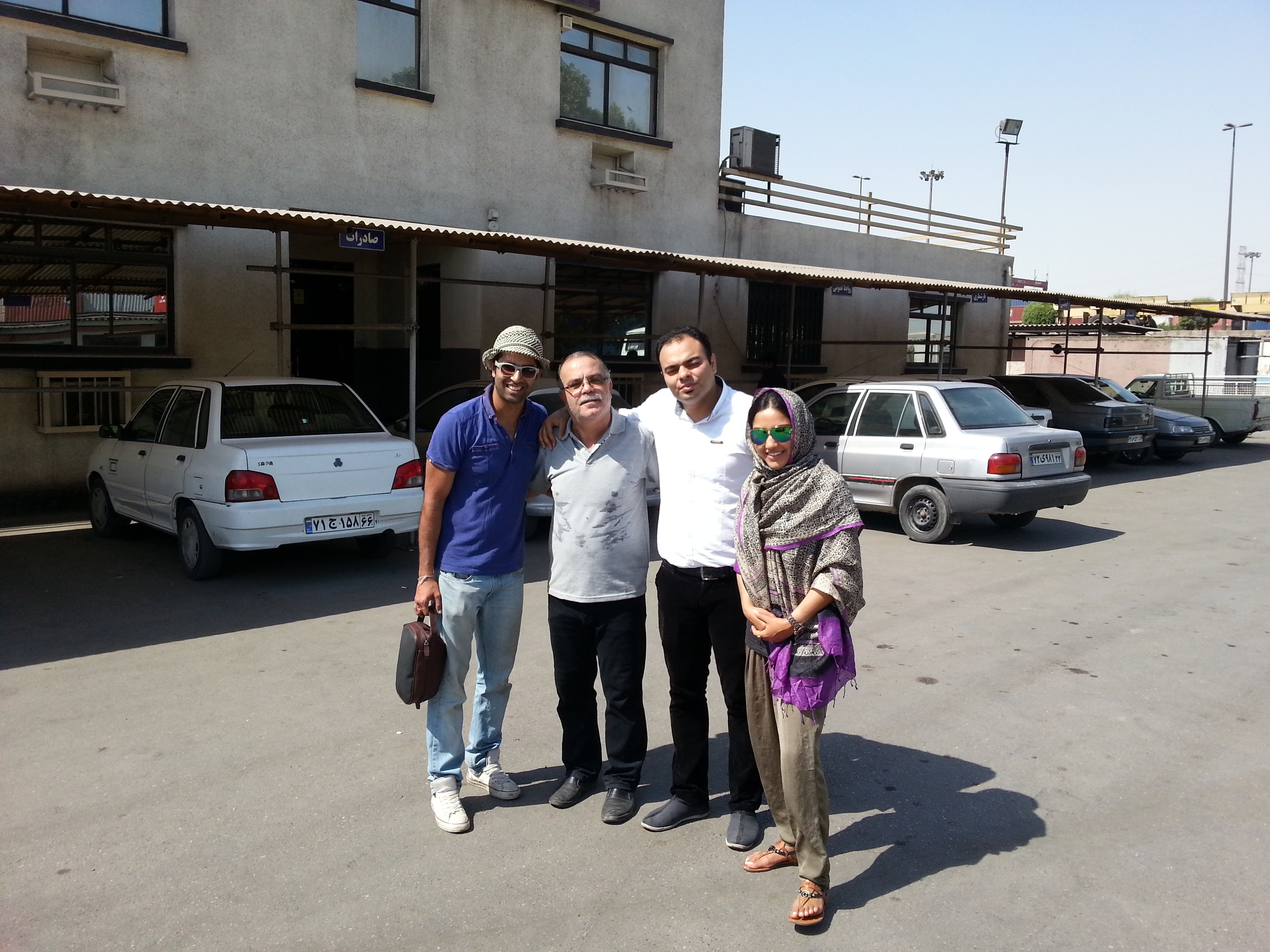 They Got Dhanno Sorted for Shipment in 2 Days Flat, Bandar-Abbas