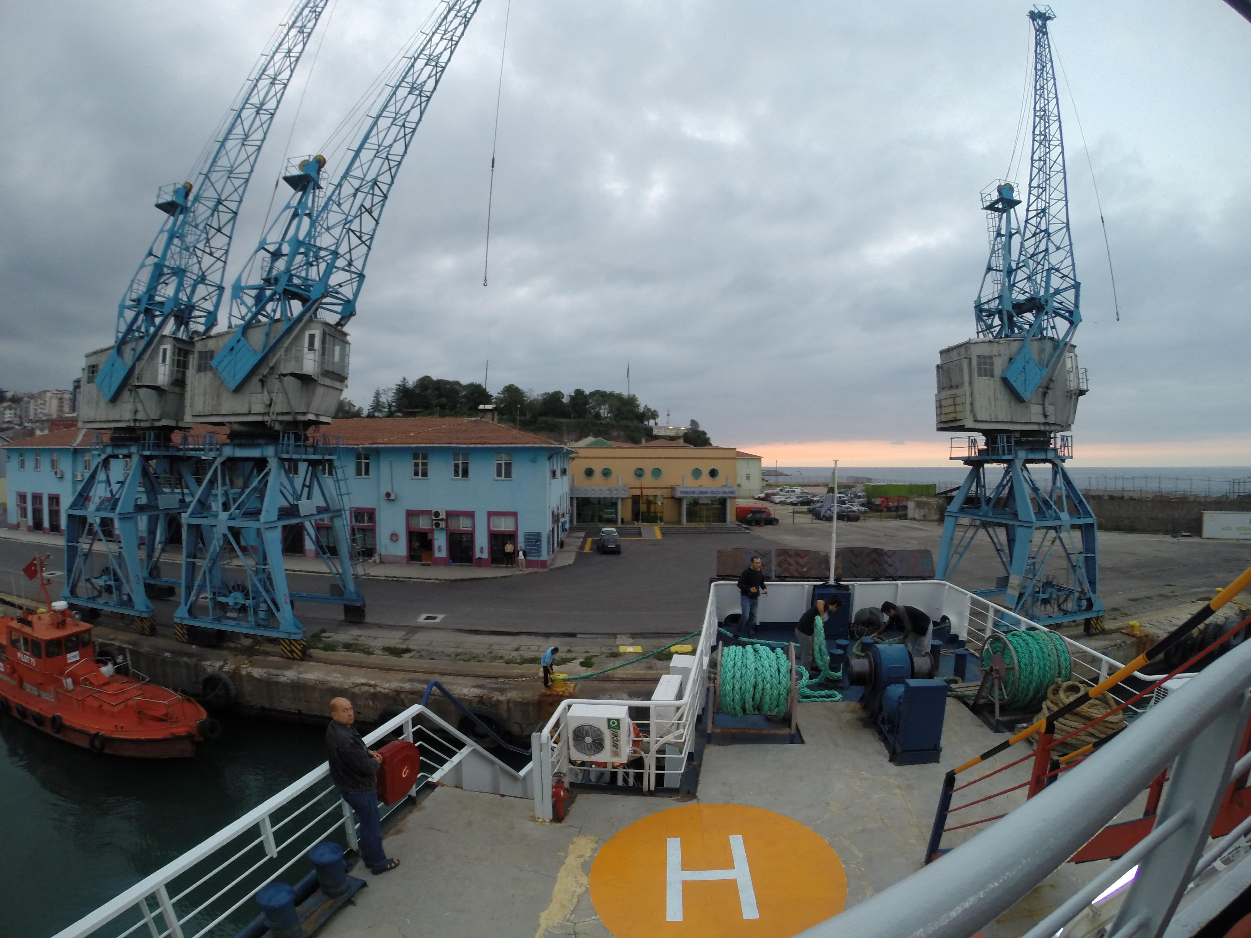 Boarded Ferry to Sochi, Russia