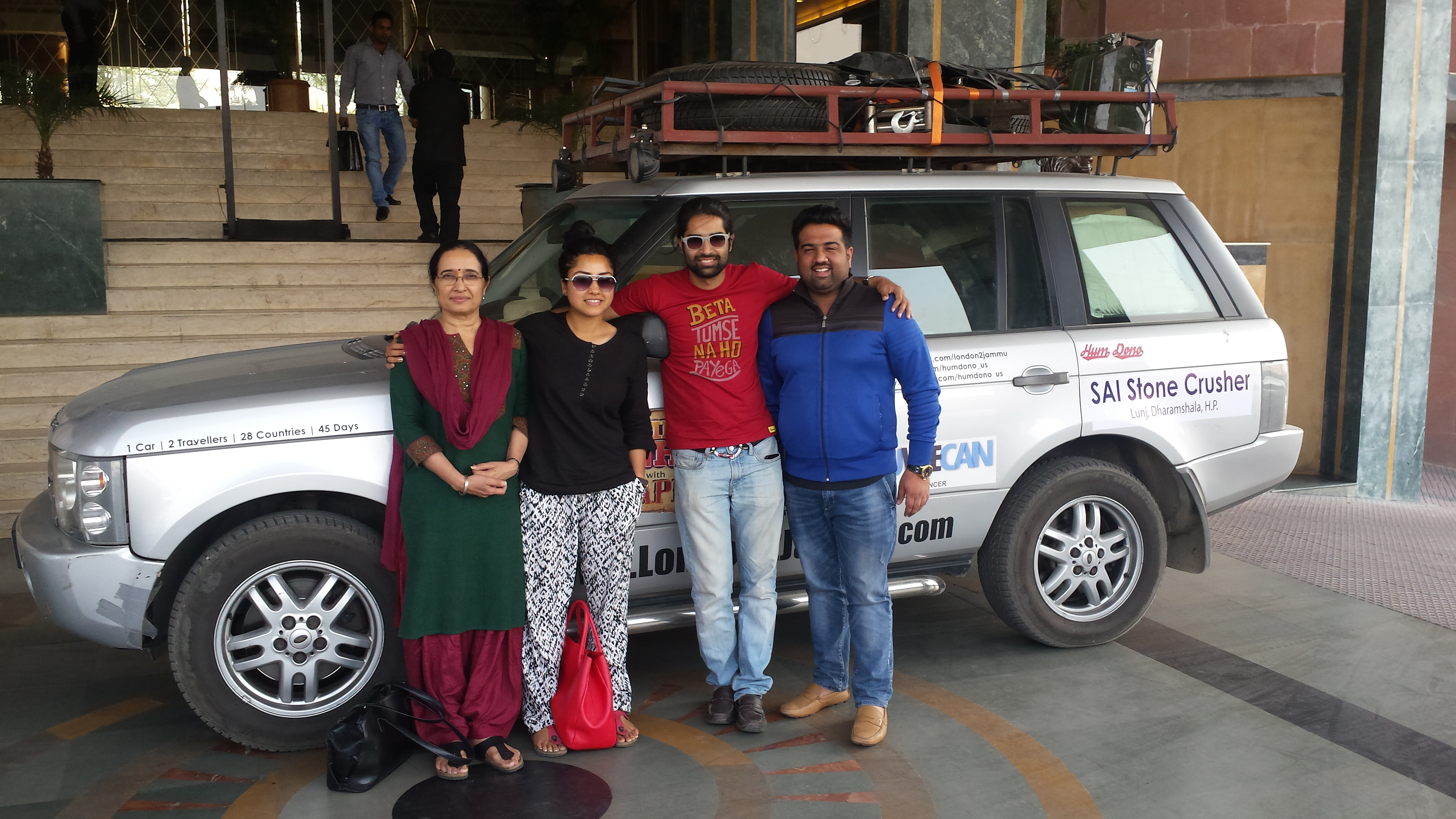 Meeting Harry on the Way to Amritsar