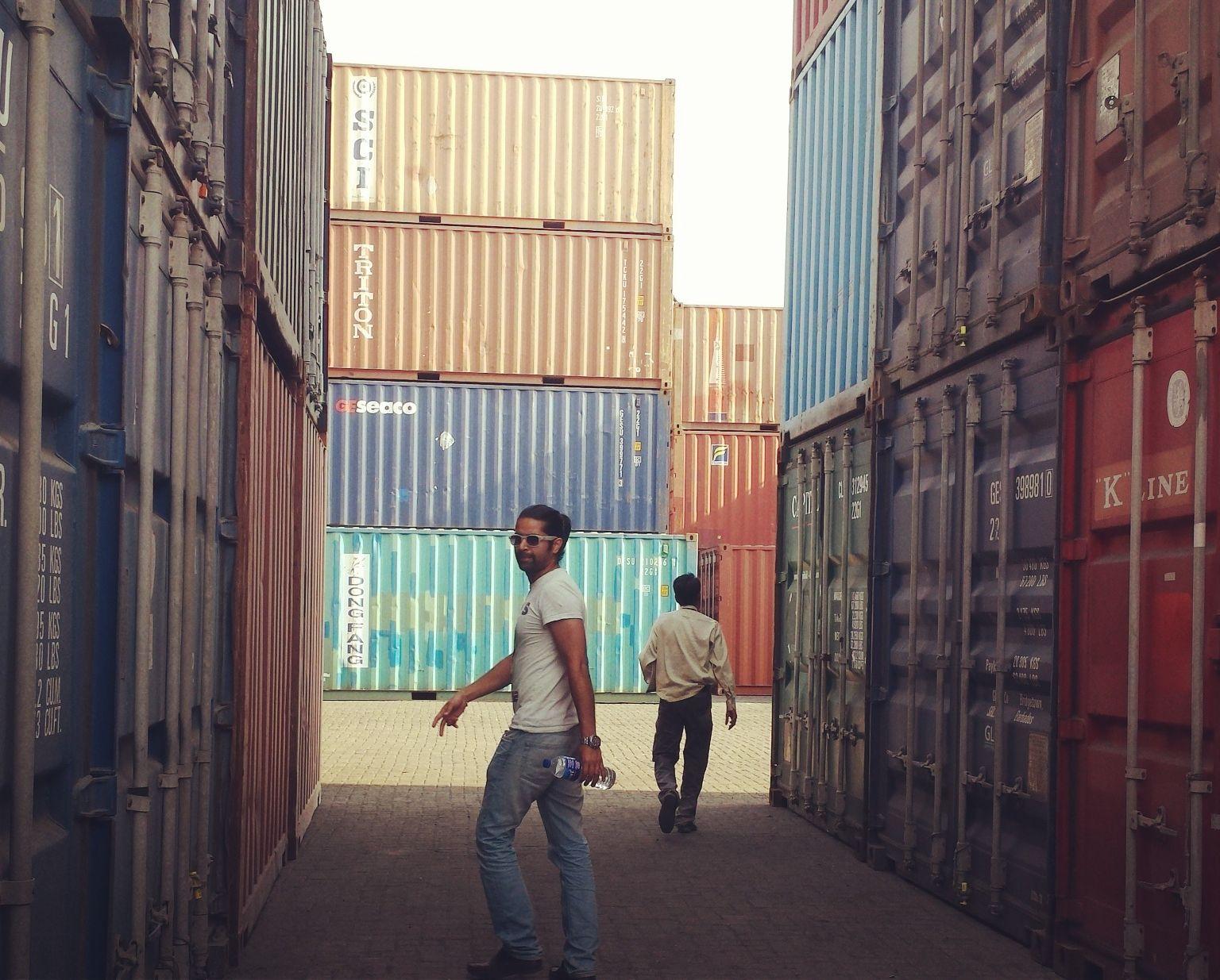 Collecting Car from Nava Shiva Port, Mumbai