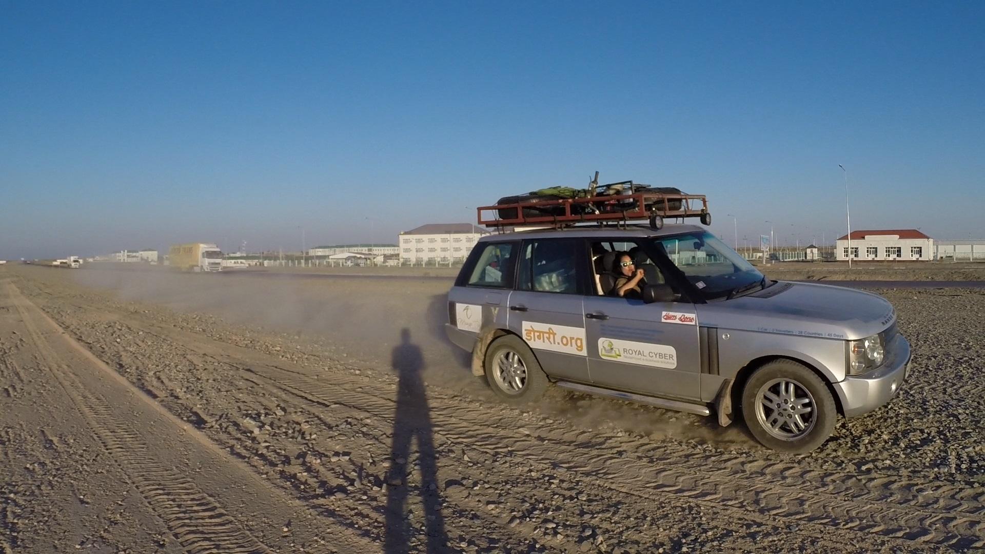 On Way To Mary, Turkmenistan