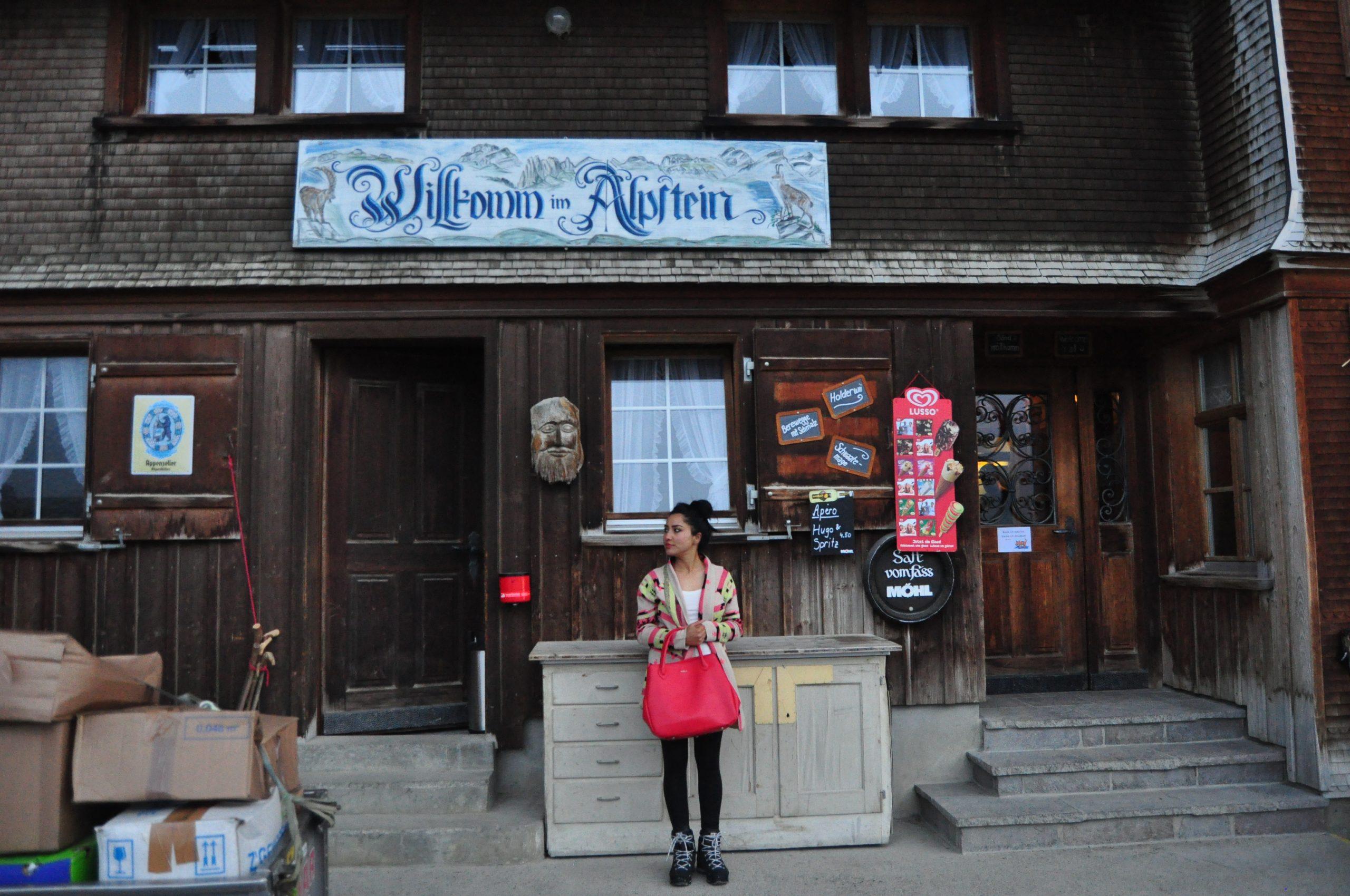 Wildkirchli, Berggasthaus Aescher, Switzerland