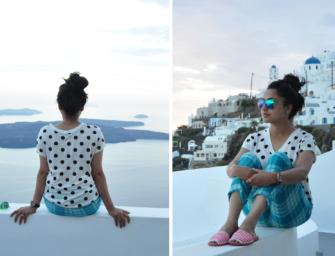 Feeling Colourful in Santorini – Day 1