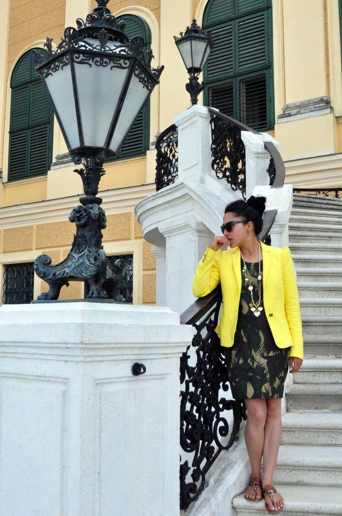 Schonbrunn Palace Stairs