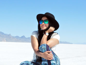 Happy Blue Day – Salt Flats, Utah!
