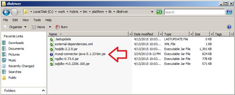 Configuring Hybris e-Commerce Platform with MySql Server 5 6