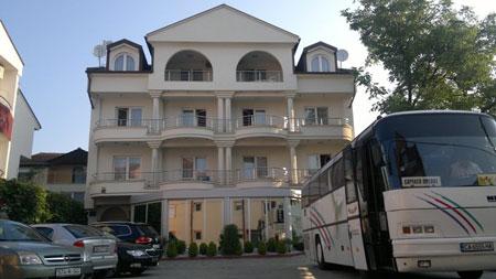 Hotel Villa Dislievski, Ohrid - Parking
