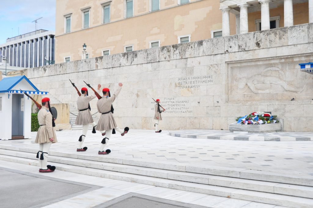 Evzones-Guard-of-Honour-Athens