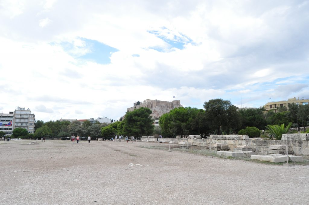 View-of-Acropolis-from-Temple-of-Olympian-Zeus
