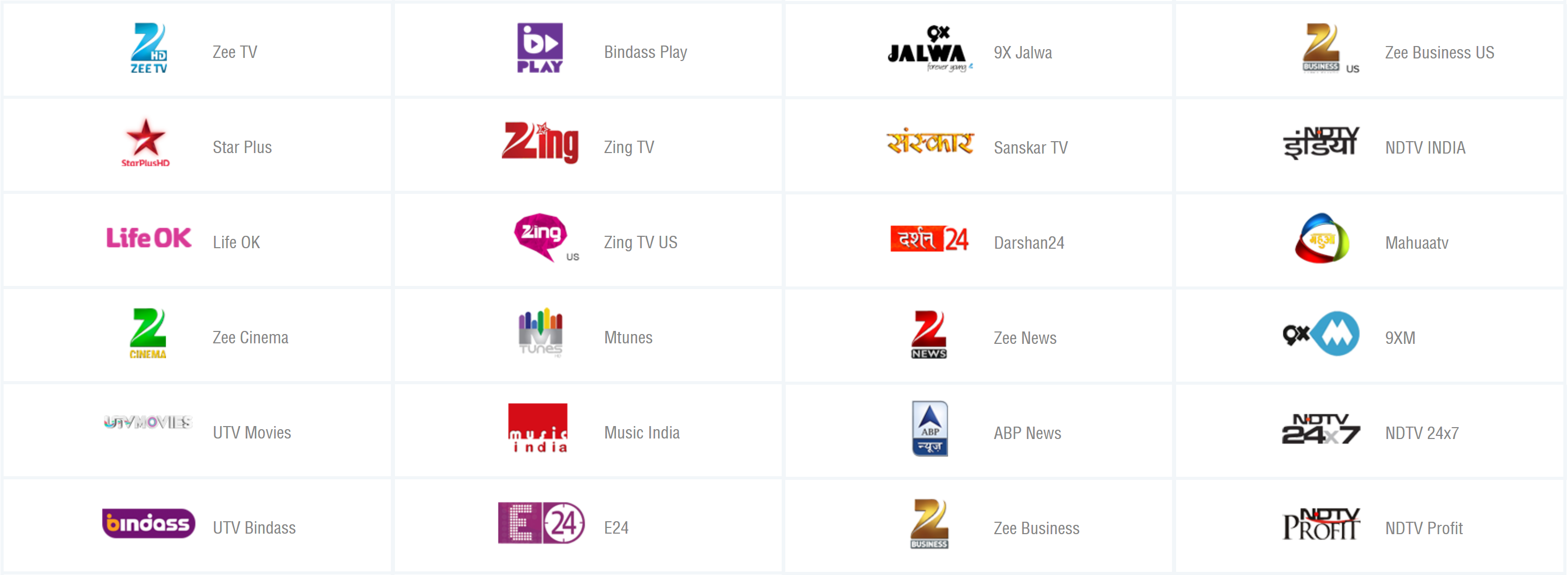 Zem TV - Free XBMC Add On for Desi Channels